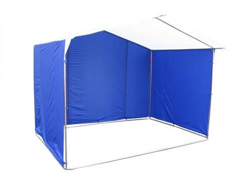 Торговая палатка «Домик» 2,5 x 2 К из квадратной трубы 20х20 мм, тент ПВХ