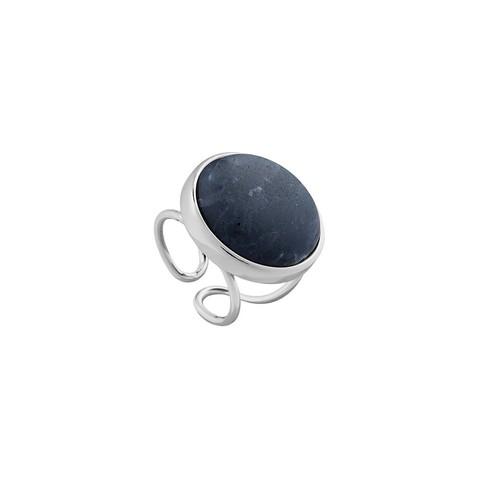 Кольцо Pearl Sodalite 16.5 мм K0948.22 BL/S