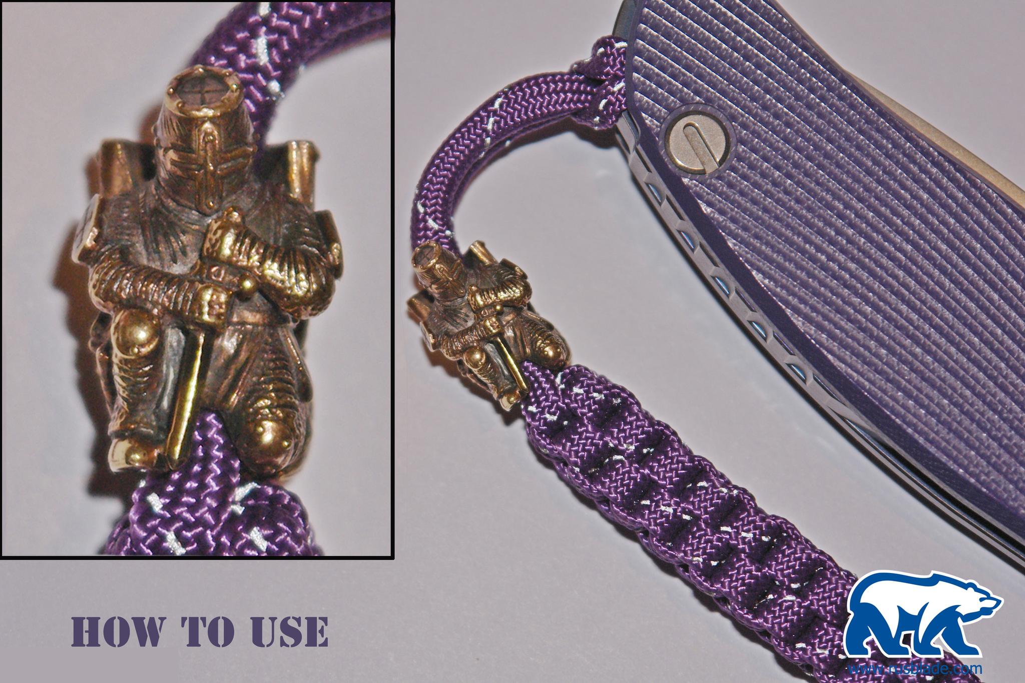 "Custom Sword Knot ""Terminator Small"" Limited Edition - фотография"