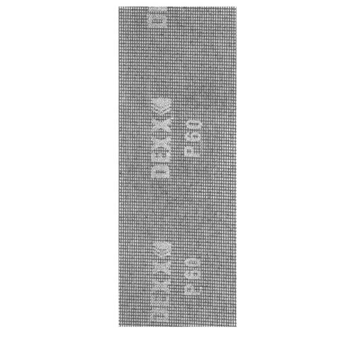 Шлифовальная сетка DEXX абразивная, водостойкая Р 60, 105х280мм, 3 листа