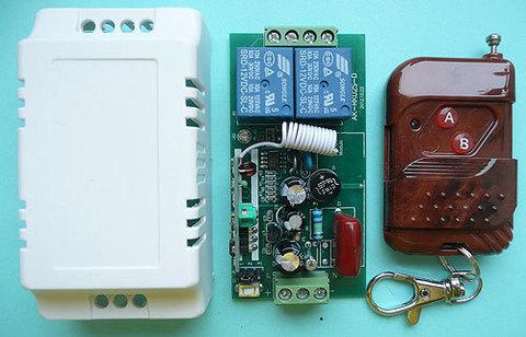 Выключатель дистанционный на радиочастоте RC-2-220- RK-02S-KP2 на две нагрузки