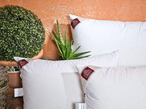 Трехкамерная подушка 68x68 «3D Aloe Vera Grass»