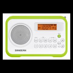 Радиоприемник Sangean PR-D18 white green