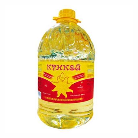 Масло подсолнечное КУНКЕЙ 5 л КАЗАХСТАН