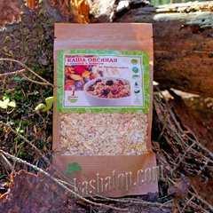 Овсяная каша с вишней и изюмом 'Organic food' 70г упаковка