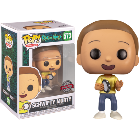 Фигурка Funko Pop! Animation: Rick and Morty - Schwifty Morty (Excl. to Barnes & Noble)