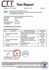Сертификат соответствия качества материала
