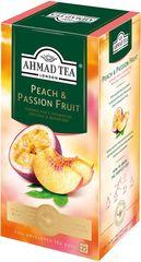 Чай черный Ahmad Tea Персик-Маракуйя 25*1,5г