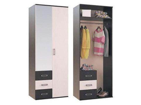 Шкаф 2-х створчатый для одежды Белла.