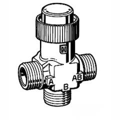 Клапан 3-ходовой зональный Schneider Electric CO VZ32/20/4,0