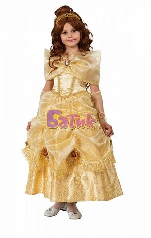 Карнавальный костюм Принцесса Белль (бархат)