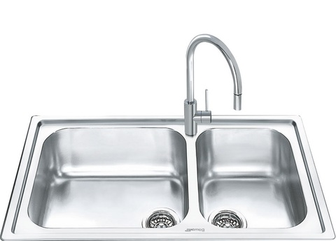 Кухонная мойка Smeg LGM862-2