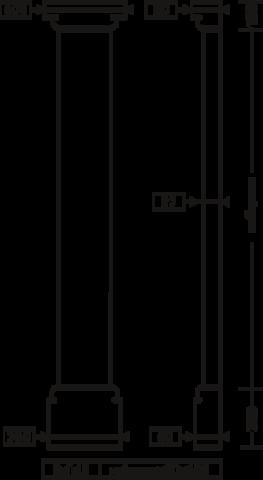 Комплект пилястры 1.20.102