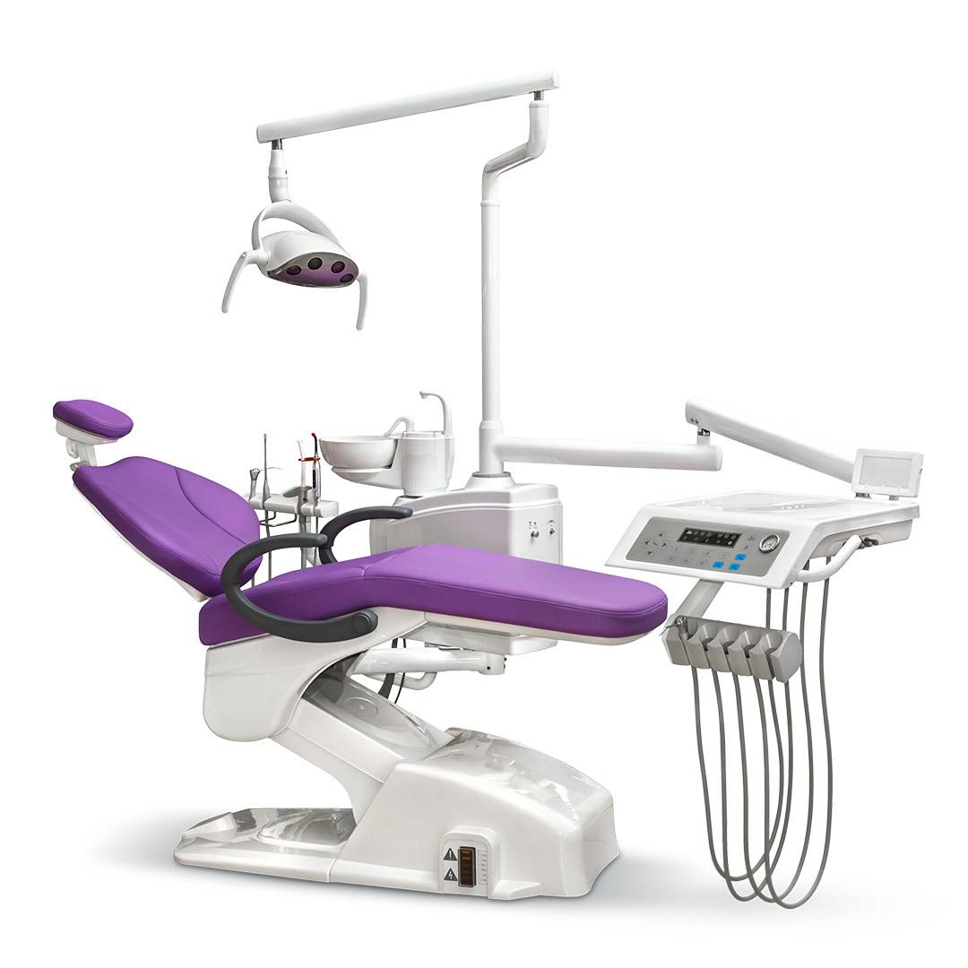 Mercury 330 LUX стоматологическая установка с нижней подачей инструментов