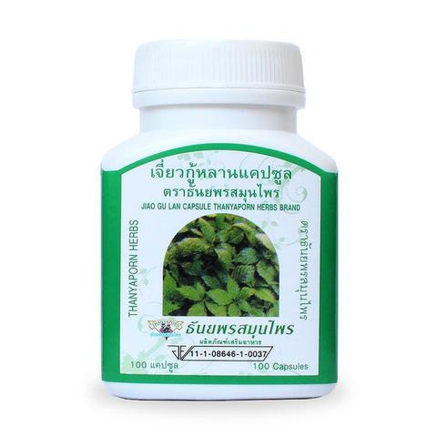 Капсулы Jiao Gu Lan Thanyaporn выведение токсинов и омоложение.