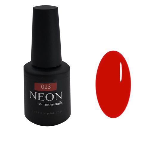 NEON, гель-лак Strawberry  № 023 , (12 ml) красный