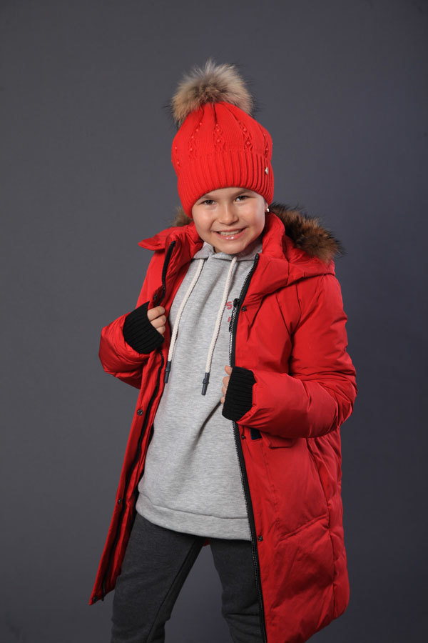 Пальто для девочки Minika, B-02