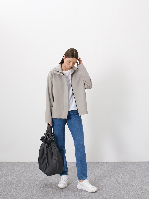 Куртка Ялта с горизонтальной складкой сзади