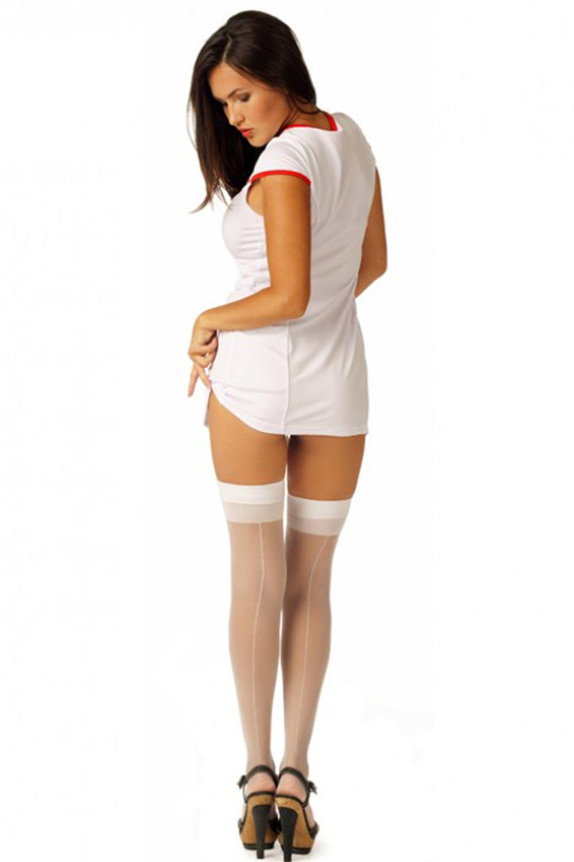 Ролевой костюм секси медсестры для эротических игр