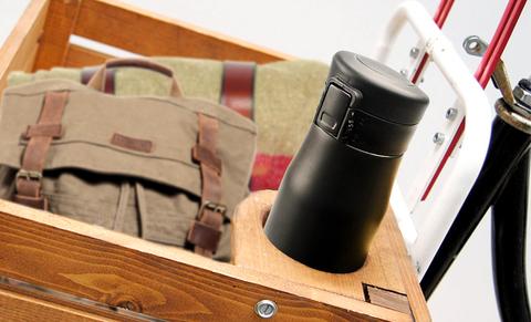 Термокружка Asobu Liberty canteen (0,5 литра), черная/стальная