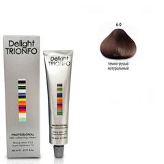 Constant Delight, Крем-краска DELIGHT TRIONFO 6.0 для окрашивания волос, 60 мл