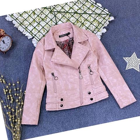 Куртка экокожа девочке (5-9) 210205-J7132