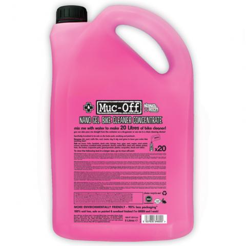 Картинка очиститель Muc-off NANO-TECH BIKE CLEANER, гель-концентрат, 5л.  - 1
