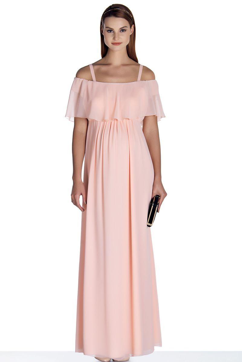 Платье для беременных 08496 розовый