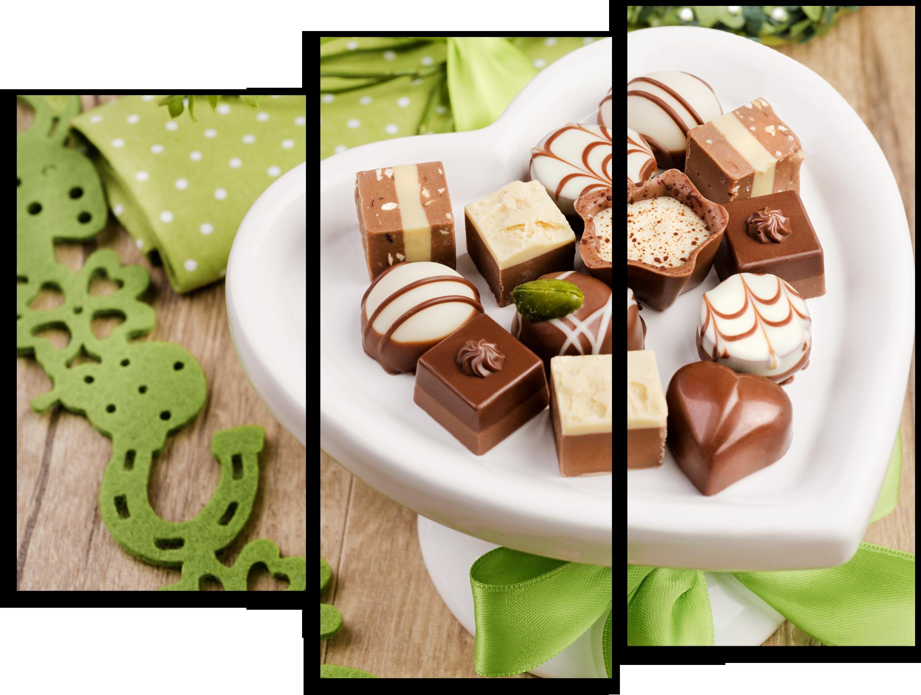 """Модульные картины Модульная картина """"Шоколадные конфеты"""" М174.png"""
