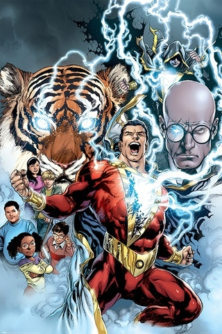 Постер Shazam (The Power of Shazam) 218-PP34432