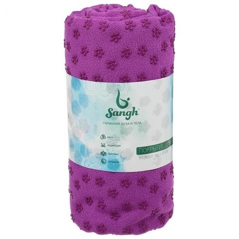 Полотенце- покрытие для йоги Sangh 183*61*0,3 см