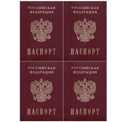 Печать на сахарной бумаге, Паспорт-4