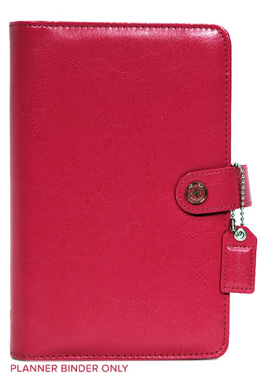Планер PERSONAL PLANNER: Dark Pink by Websters Pages (БЕЗ внутреннего наполнения)