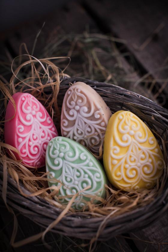 Мыло Яйцо разноцветное. Пластиковая форма