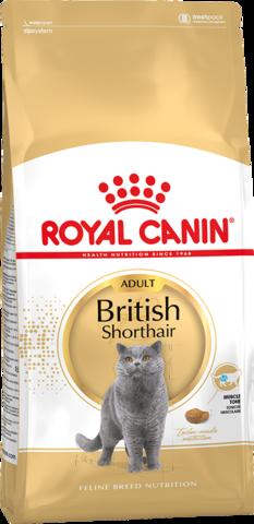 R.С. Бритиш Шотхэйр 34 д/британских кошек 4кг*4
