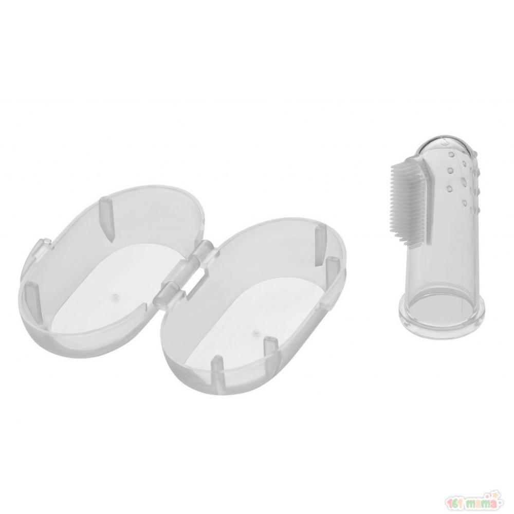 Зубная щетка-массажер (силикон) RTM-001