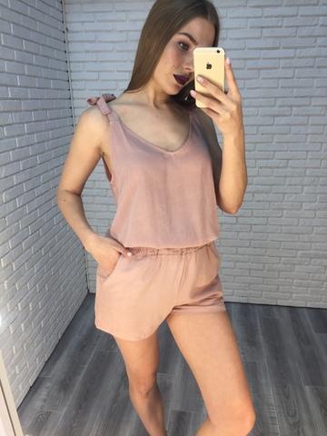 Комбинезон с шортами шелковый Nadya
