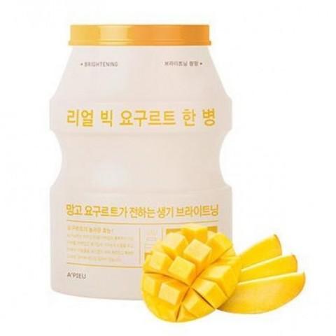 A'PIEU Маска йогуртовая с экстрактом манго Real Big Yogurt One-Bottle Mango