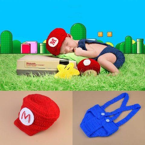 Костюмы Марио для малышей