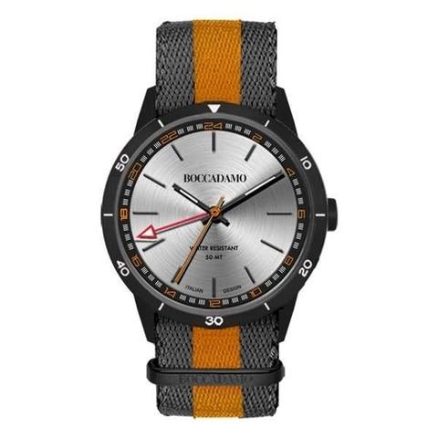Часы Navy Black Silver NV027 BW