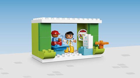 LEGO Duplo: Городская площадь 10836 — Neighborhood — Лего Дупло