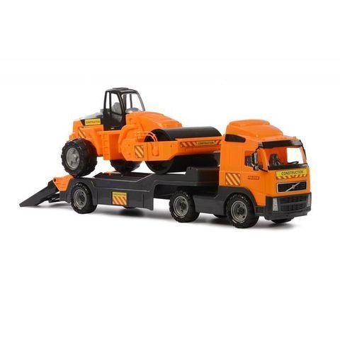 """""""Volvo"""", автомобиль-трейлер + дорожный каток (в коробке)"""
