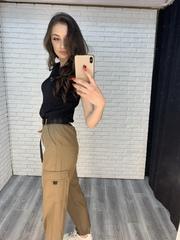штаны карго джоггеры женские купить