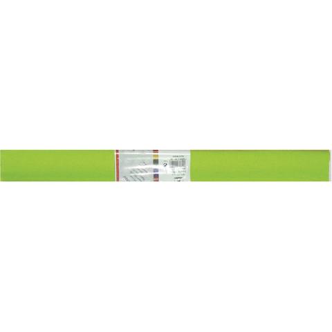Бумага гофрированная Werola светло-зеленая 50x250 см