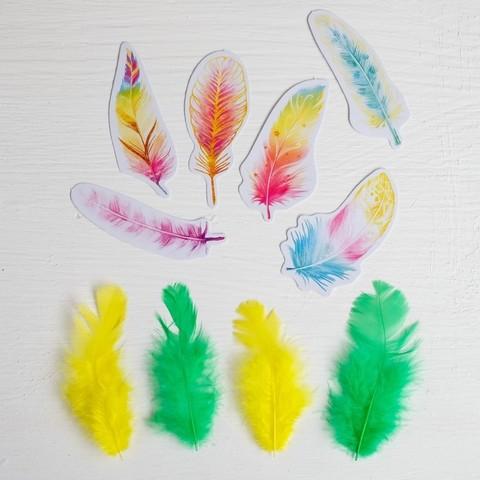 Набор перьев для творчества В стране единорогов