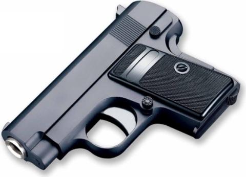 Cтрайкбольный пистолет Galaxy G.9 Colt 25 mini металлический, пружинный