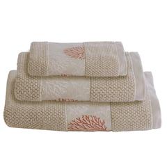 IBIZA  towel set / beige