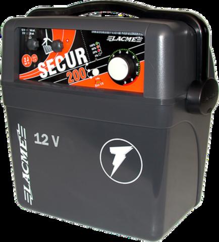 Электропастух Secur 200 для коров, аккумуляторный, фото