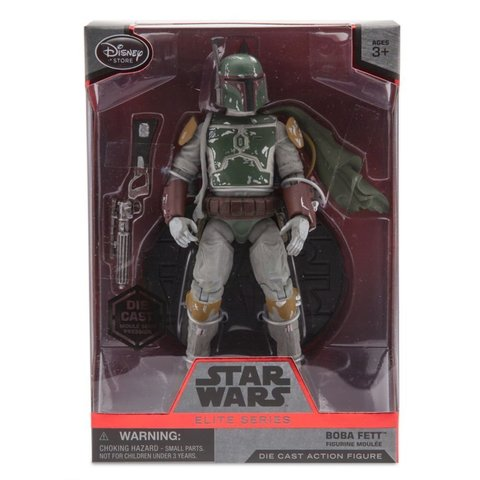 Звездные войны Die Cast фигурка Боба Фетт — Star Wars Boba Fett