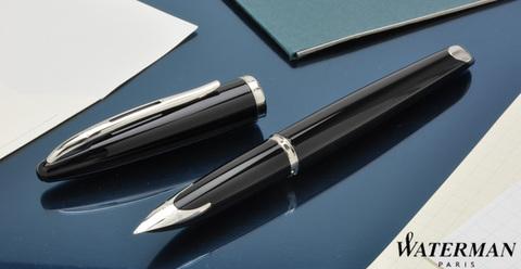 Перьевая ручка Waterman Carene, цвет: Black ST, перо: F123